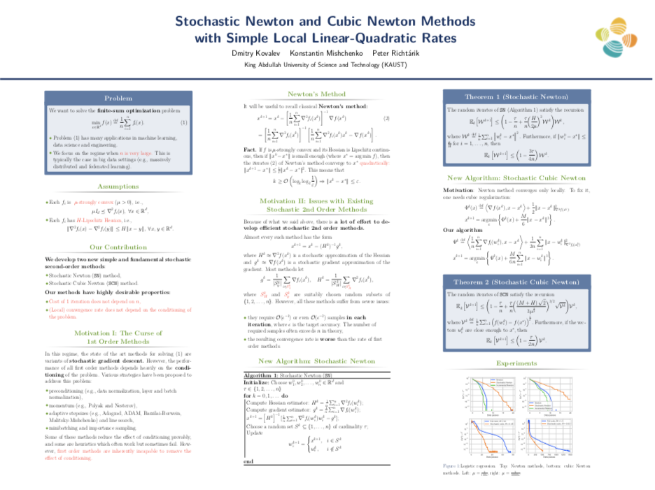 Stochastic Newton               Methods